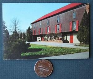 1960s Robesonia Pennsylvania- Stone Harbor New Jersey color photo business card!