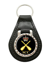 Sea Cadets SCC Drill instructor Badge Leather Key Fob
