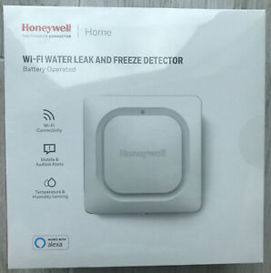 Honeywell Lyric RCHW3610WF Wi-Fi Water Leak And Freeze Detector, Brand New.