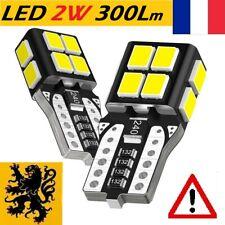 ✅ 2x T10 LED W5W PREMIUM ✨ULTRA 360° HP⚠️300Lm 14SMD 6000k 12V 1,8W ANTI ERREUR