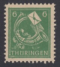 GERMANY, Soviet Zone, 1945. Thuringen, Mi 95AX, XVI, Mint *