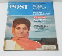 THE SATURDAY EVENING POST MAGAZINE JULY 1966 KIDNAPPING, SON AT WAR AND MORE