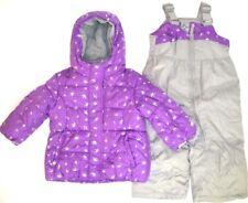 ZeroXposur Infant Girl's 2 Pc Purple Jam Snowsuit NWT 12M or 18M    w/ Crowns