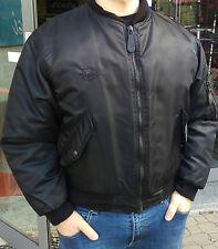 GIUBBINO BOMBER STILE VINTAGE BARDALH biker anni 80 skelton harley davidson NEW
