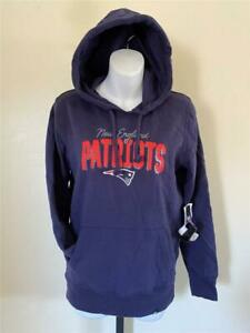 New New England Patriots Womens Size S Blue Hoodie