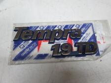 Scritta posteriore originale Fiat Tempra 1.9 TD fino al 1996  [8333.17]