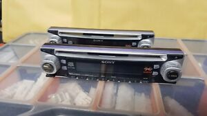 SONY CDX-CA600X CD FACE OFF FRONT SECURITY PANEL ONLY,POP OF FASCIA,