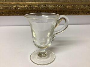 Early 19th Century Georgian Custard Glass Cup C1800