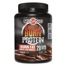 Musashi Shred & Burn Protein Powder Chocolate Flavour 714g