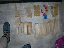 BRIO WOODEN TRACK   Thomas the Tank HUGE LOT of 49  pieces