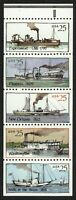 #2409a 25c Steamboats, Bklt Pane-Never Folded, Mint **ANY 4=FREE SHIPPING**
