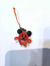 Takara Tomy Disney Micky Mouse Halloween Ghost Mascot phone strap RED 1pcs