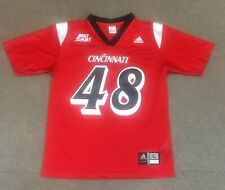 VTG Adidas Greg Moore Cincinnati Bearcats Football Jersey #48 Red Youth Large
