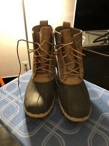 """Bean Boots Made by LL Bean Boots Men's Size 10"""" Lightly Used"""