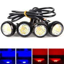 2Pcs 4014 12SMD Eagle Eye Light Red Lamps LED Bulb Fog Signal Turn Headlight  ww