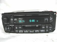 Dodge Chrysler Jeep radio tuner CD cassette RAZ 02-07 5064042 Caravan PT Cruiser