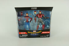 Marvel Legends Spider-Man Homecoming 2 Pack Spider-Man Iron Man Figures
