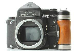 """""""Near Mint w/ Grip"""" Pentax 6x7 67 TTL Mirror Up Medium Format Camera Body JAPAN"""