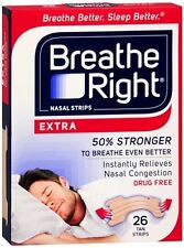 Breathe Right Nasal Strips Extra 26 Each (Pack of 5)
