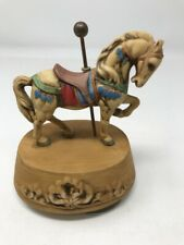 Beautiful Carousel Horse Music Box Melodies By Willitts Excellent Pre-Owned Cond