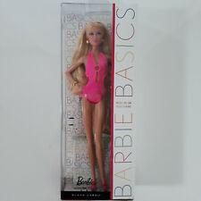 Barbie Basics - Model n°4 - Collection 003 - Blonde maillot de bain rose - Muse