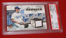 J.D. Drew (Dodgers)- 2006 Ultra Fine Fabrics (Jersey card) #FMJD - PSA 6 (EX-MT)