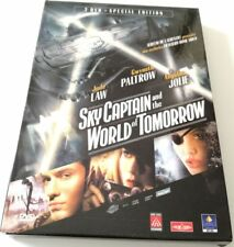 SKY CAPTAIN AND THE WORLD OF TOMORROW SPECIAL EDITION SLIPCASE 2 DVD FILM ITA