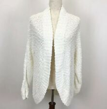 Motherhood Maternity Small Sweater White Cardigan Ivory Open Front