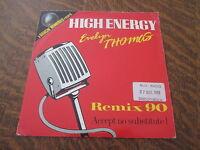 45 tours EVELYN THOMAS high energy REMIX 90