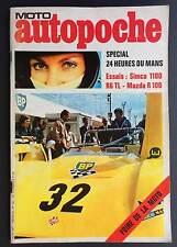 ► AUTOPOCHE N°38/1971 - MAZDA R 100 - LANCIA 2000 - SM - RENAULT 6  -MC BEAUMONT
