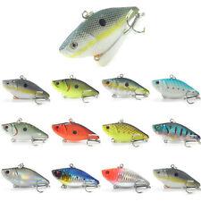 5PCS VIB Lure Fishing Minnow Lures hook artificial bait Crankbaits 7cm/18g