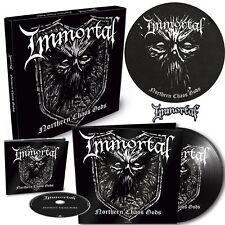 Immortal Northern Chaos Gods PICTURE DISC VINYL LP CD patch box set boxset