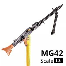 """1/6 Scale MG42 Machine Gun Weapon Military For 12"""" Action Figure Soldier UK"""