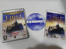 URU AGES BEYOND MYST JUEGO PC CD-ROM ESPAÑOL UBISOFT PETER GABRIEL SONG COMPLETO