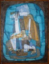 Peintures du XXe siècle et contemporaines gouaches abstraits sur toile