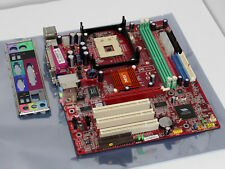 Msi Ms-6787 Ver: 2, Socket 478, mAtx, Agp Tested And Working!