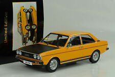 1975 / 1978 Audi B1 80 GTE ocher yellow / black ocker / schwarz 1:18 KK diecast