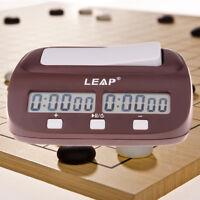 Schachuhr Digital Professional Count Timer Sport Elektronische Schachuhren ZF