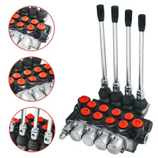 Hydraulic Directional Control Valve Tractor Loader 11 Gpm With Joystick 4 Spool