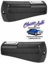 68-69 Chevelle Malibu GTO Rear Armrest Bases Pads & Ash Trays,Pair  M1040J