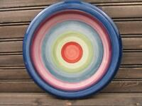 Rotunda by Tabletops Unlimited Dinner Plate Multicolor Bands L213
