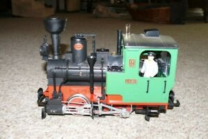 M22 LGB 20212 Dampflokomotive  Stainz Nr.2 grün Spur G