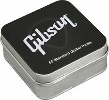 GIBSON Collectors Tin of 50 Standard Guitar Picks (Heavy) Brand New & Sealed