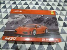 Ninco *NEW* 1/32 50408 Ferrari 360 GTC  Slot Car Building Kit  For Collectors