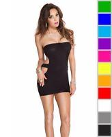 New Music Legs 6780 Strapless Cut-Out Mini Dress