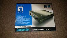 LEVEL ONE GVT-4000 CONVERTER 10/100/1000BASE T to SFP MEDIA CONVERTER