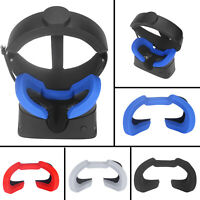 1PC Soft Silicone Light Blocking Eye Mask Cover Pad For Oculus Rift S VR Headset