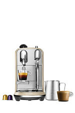 NEW by Breville Creatista Capsule Coffee Machine: Royal Champagne: BNE600RCH