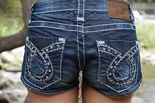 BIG STAR LIV SHORTS SIZE 25 LOW RISE FIT VINTAGE COLLECTION NWOT