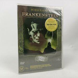 NEW Frankenstein DVD 1931 Sealed Boris Karloff Sci-Fi Horror Region 4 Free Post